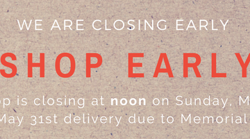 Store Closing Early for Memorial Day