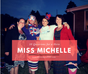 Michelle is July's Superhero