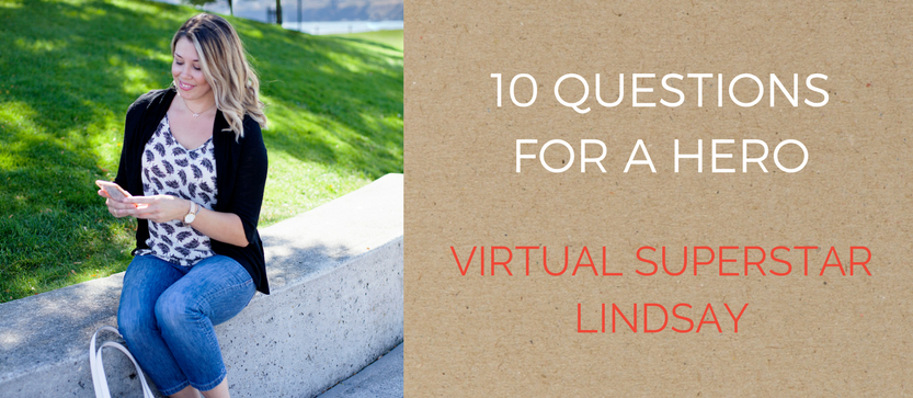 10 Questions for a Hero: Virtual Superstar Lindsay