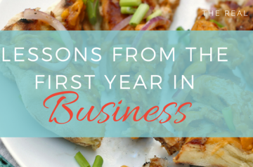 Lessons from the First Year in Business - The Real Good Life