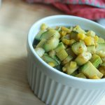 Easiest Zucchini and Corn Relish