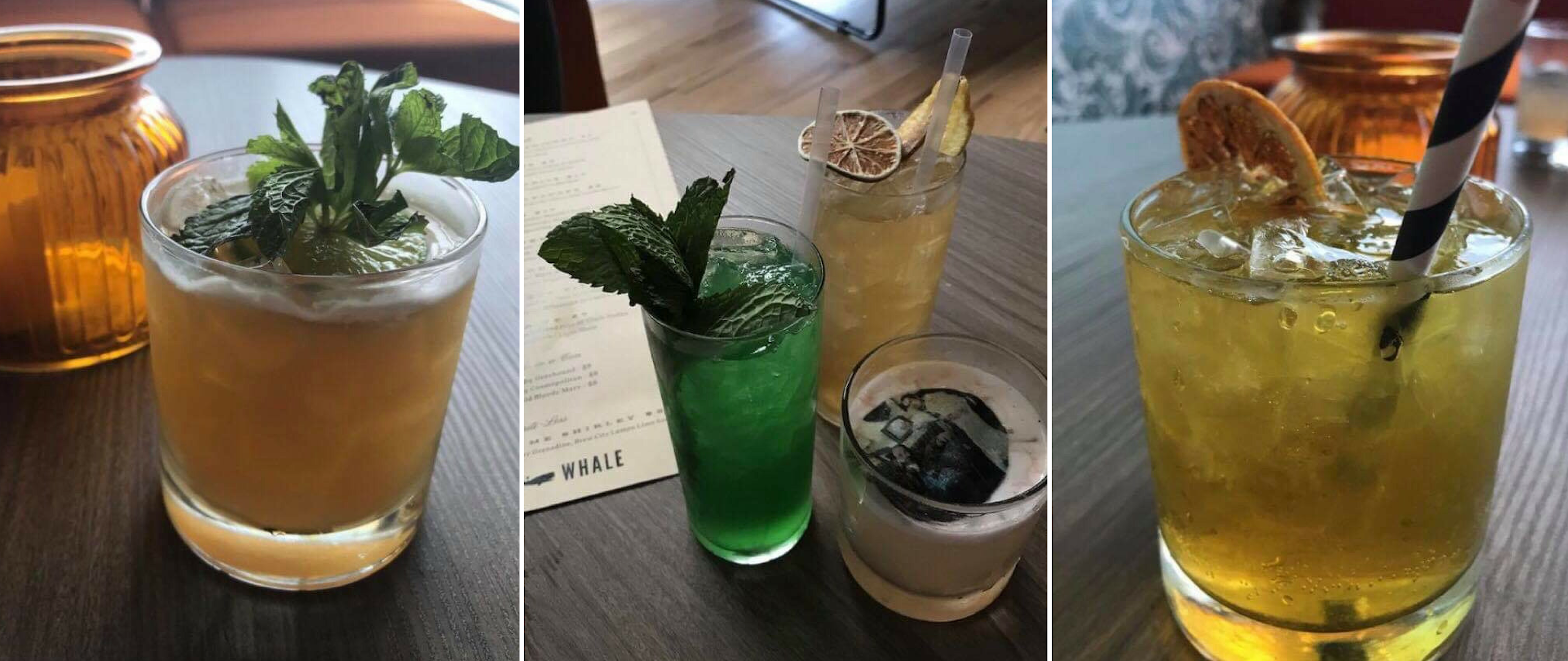 Lost Whale Cocktails