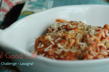 January Cooking Challenge - Lasagna!