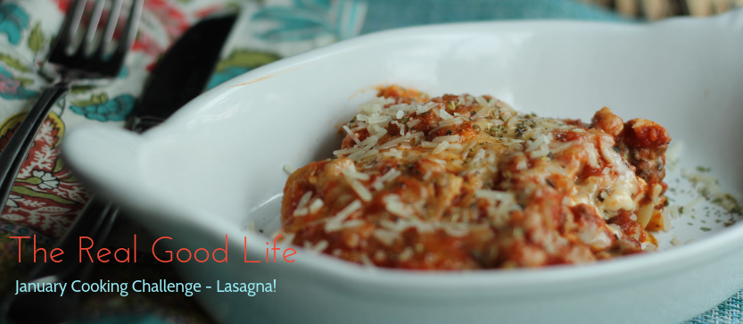 January Cooking Challenge – Lasagna