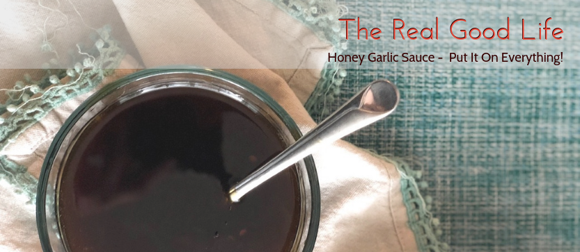 Honey Garlic Sauce – Put It On Everything!