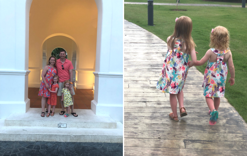 Punta Cana Vacation Family photos