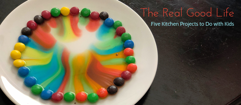 Five Kitchen Projects to Do with Kids