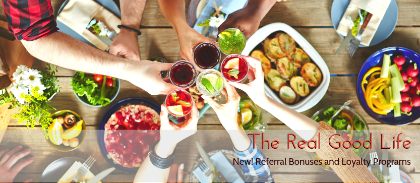 New! Referral Bonuses and Loyalty Programs