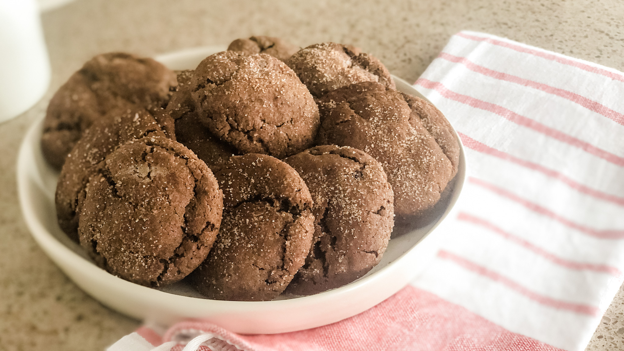 Mexican Hot Chocolate Cookies Horizontal