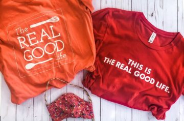 The Real Good Life t-shirts